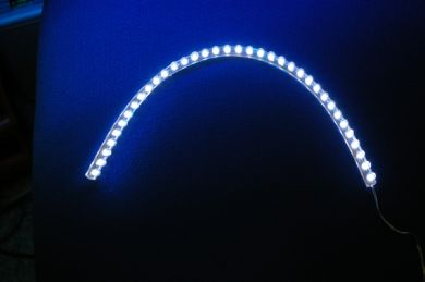 Ultra-flexible 36cm LED strip