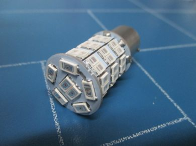 382 High power LED orange flasher bulb