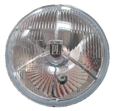 PL700 7inch High quality repro headlight with pilot light UK