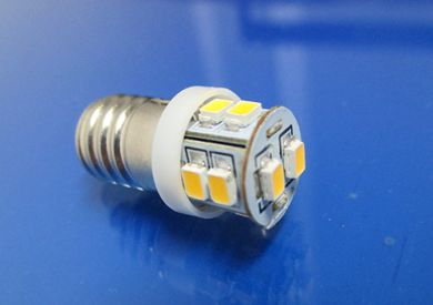 BA9ES (987)Warm White dashboard lighting bulb Pos